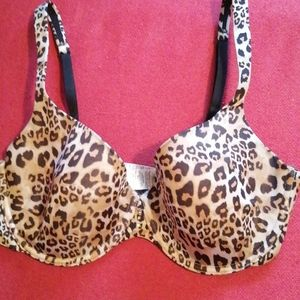 La Senza cheetah print bra